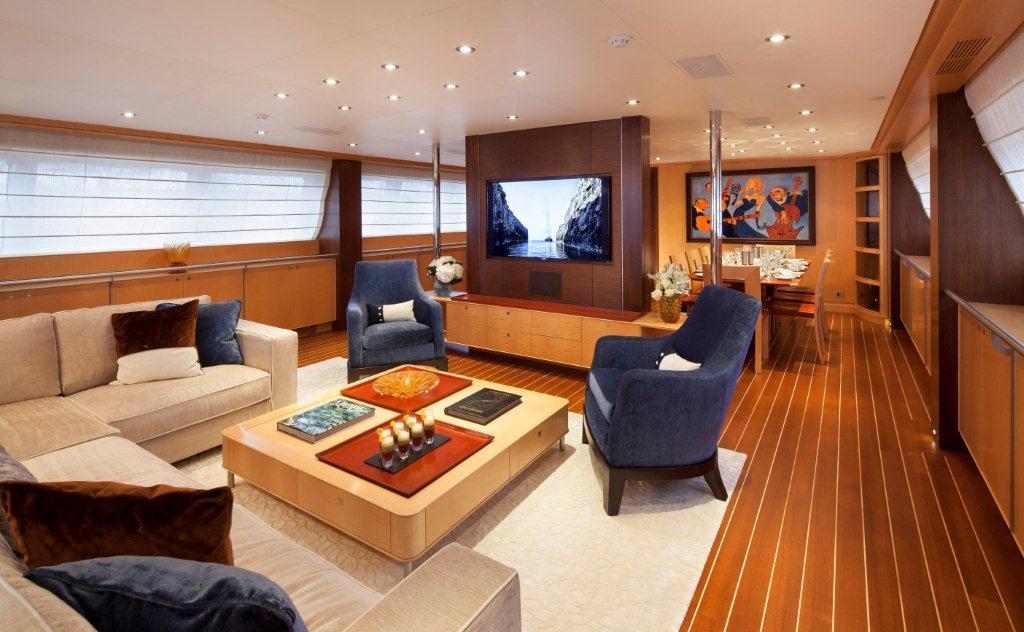 Sailing yacht VICTORIA -  Main Salon
