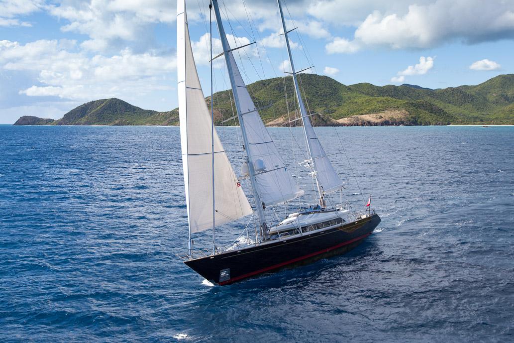 Sailing yacht VICTORIA -  Sailing
