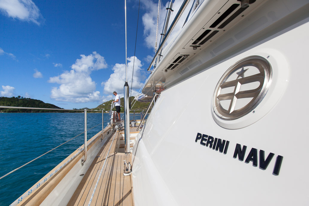 Sailing yacht VICTORIA -  Side Deck