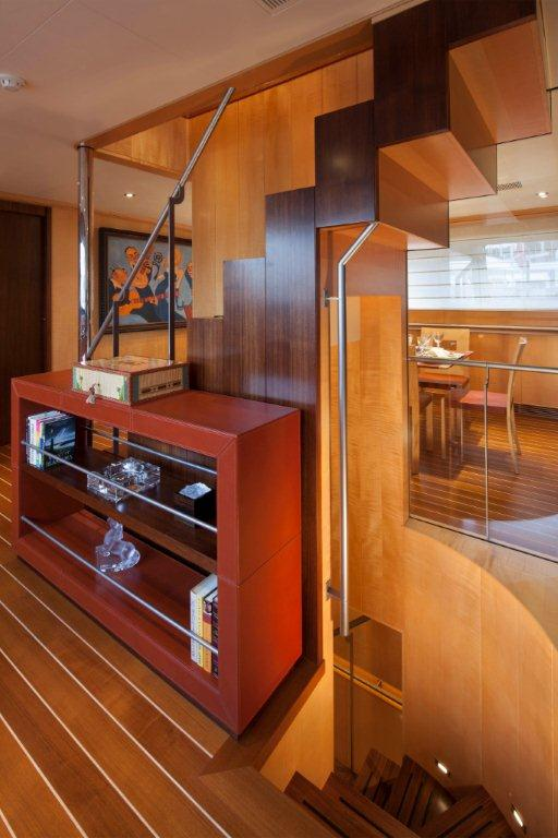 Sailing yacht VICTORIA -  Stairs