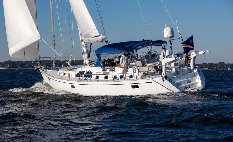 Sailing yacht VOO DOO -  Aft View