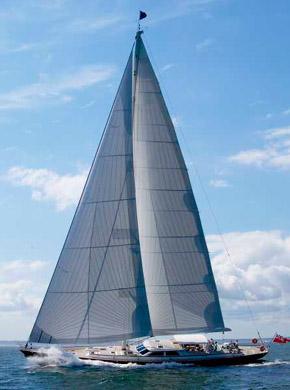 Sailing yacht WHISPER -  Sailing
