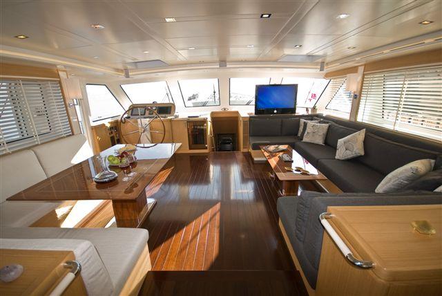 Sailing yacht ZELDA - Saloon