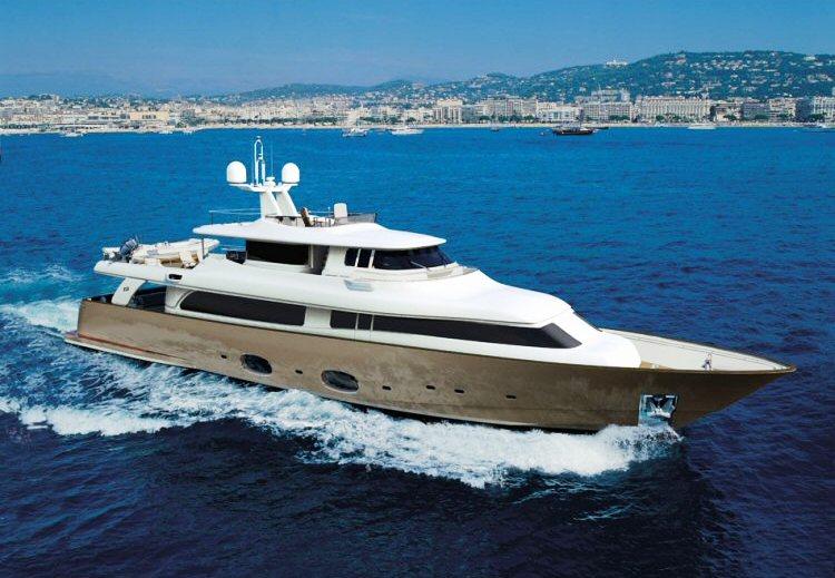 Seventh Sense (ex Lady Trudy) - Photo Courtesy of Custom Yachts