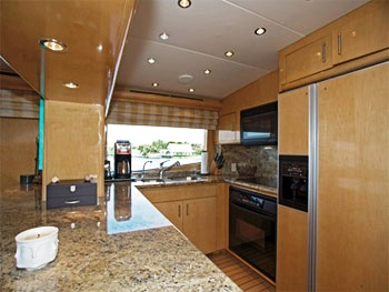 Sheer Bliss  Galley