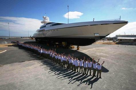 Yacht Dragonfly Hanseatic Marine Charterworld Luxury Superyacht