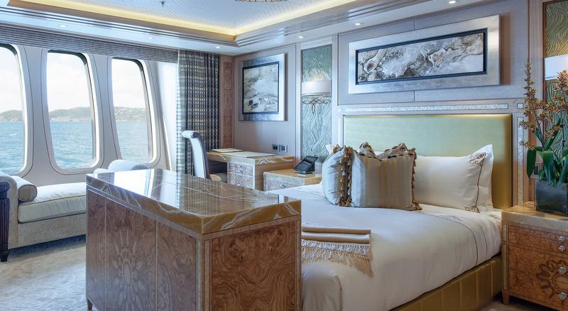 Solandge Yacht - VIP Suite - Photo by Klaus Jordan