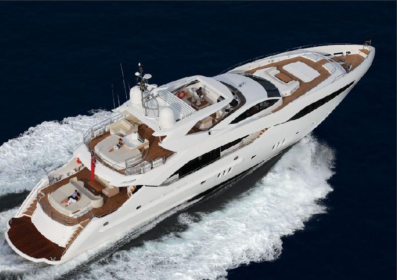 Yacht Predator 130 Sunseeker Charterworld Luxury Superyacht Charters
