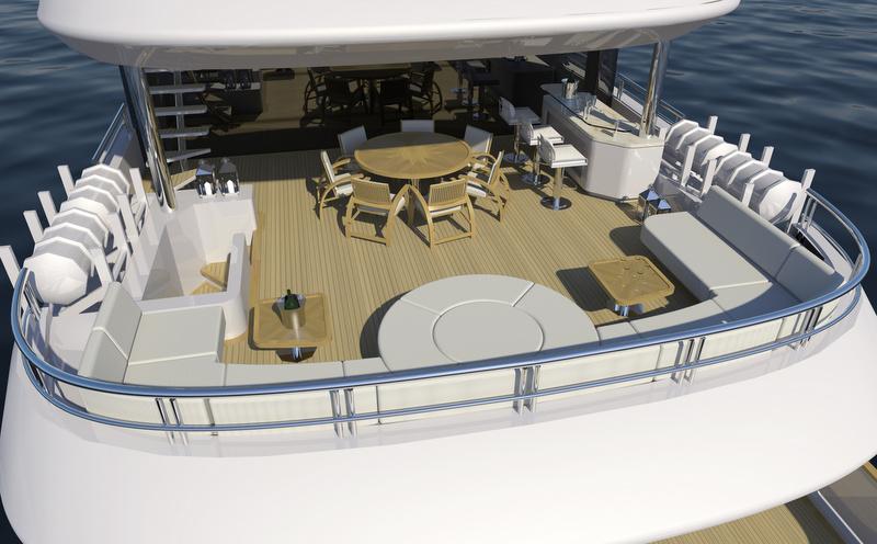 Superyacht Alfulk - Exterior