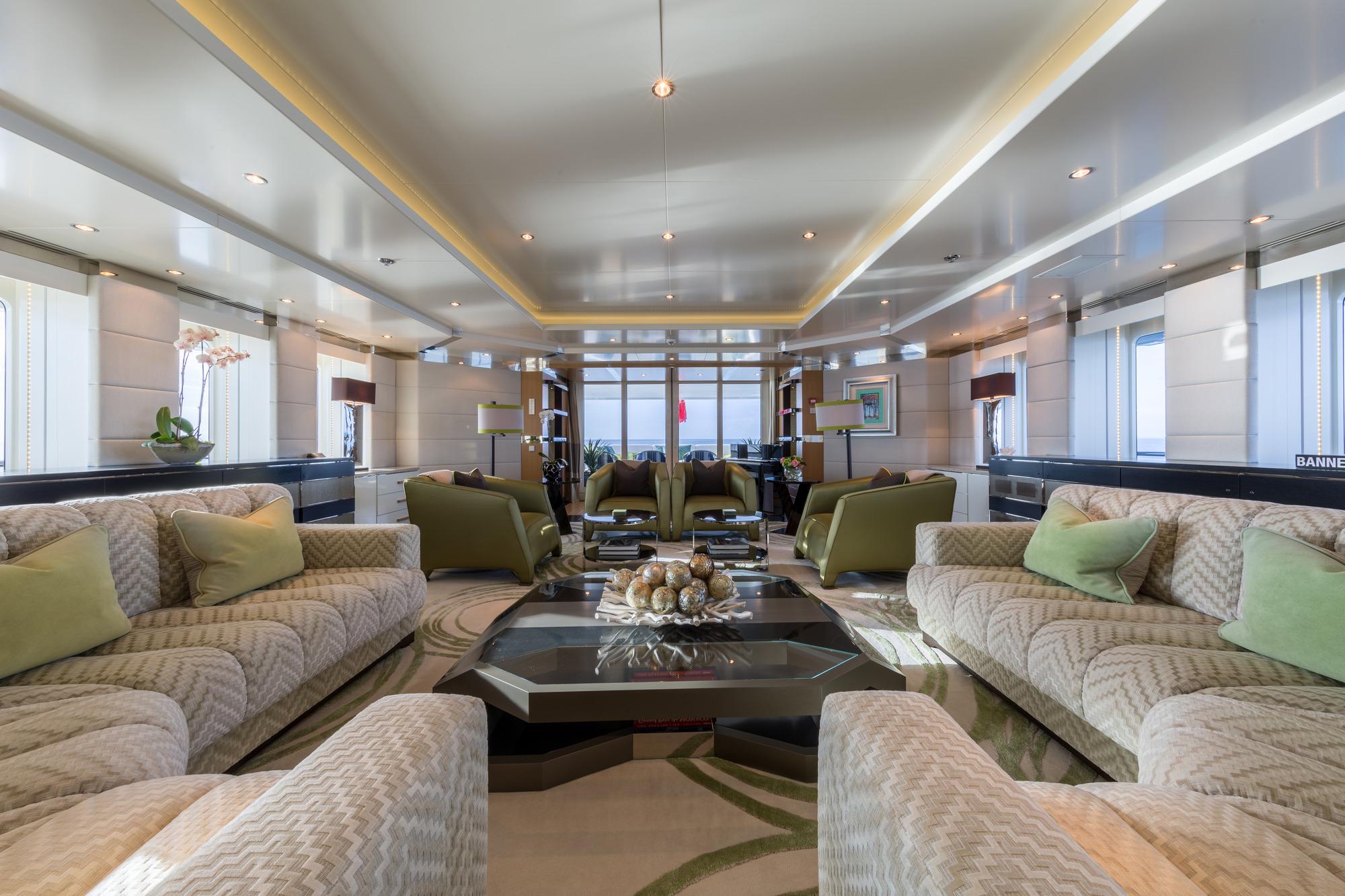 Superyacht ELYSIAN - Salon