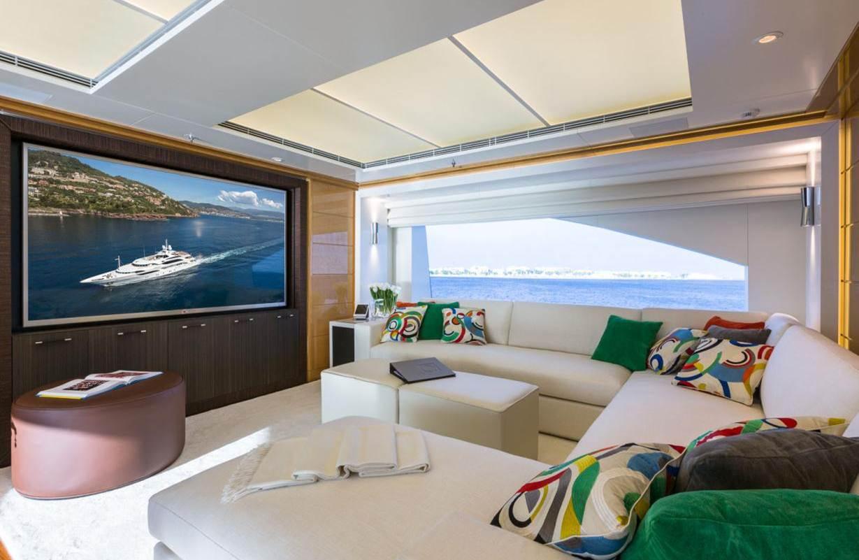 Superyacht GALAXY -  Skylounge