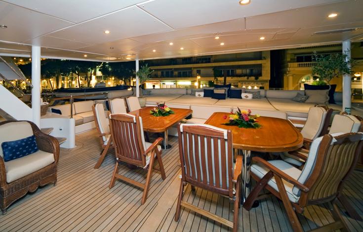 Superyacht NOBLE HOUSE -  Main Aft Deck 2