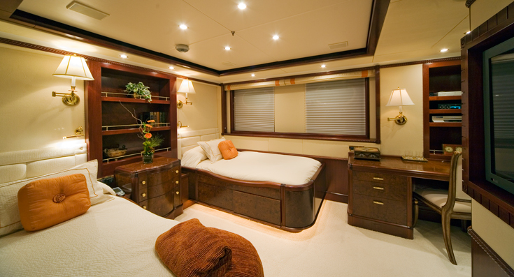 Superyacht NOBLE HOUSE -  Twin Cabin