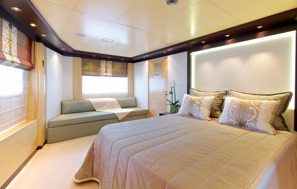 Superyacht OMEGA - Executive suite