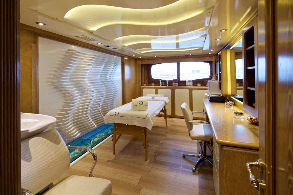 Superyacht OMEGA - Spa