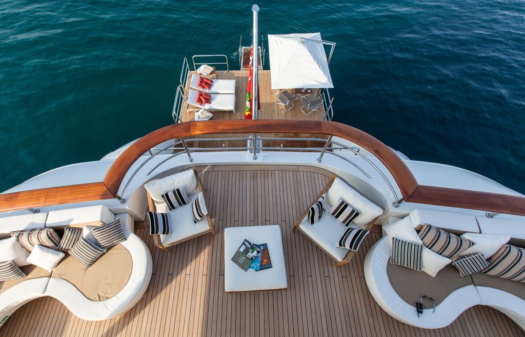 Superyacht PRIDE -  Upper Deck 2