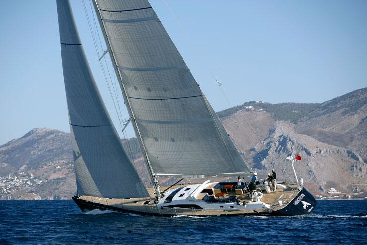 Swan 82 - Sailing 2 (sistership)