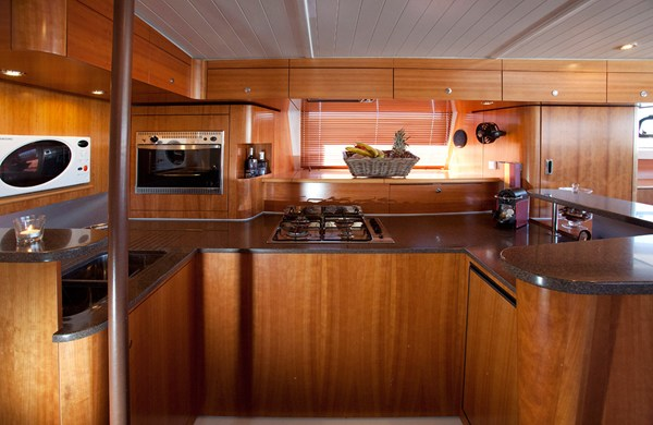 THE CHRISMA -  Galley