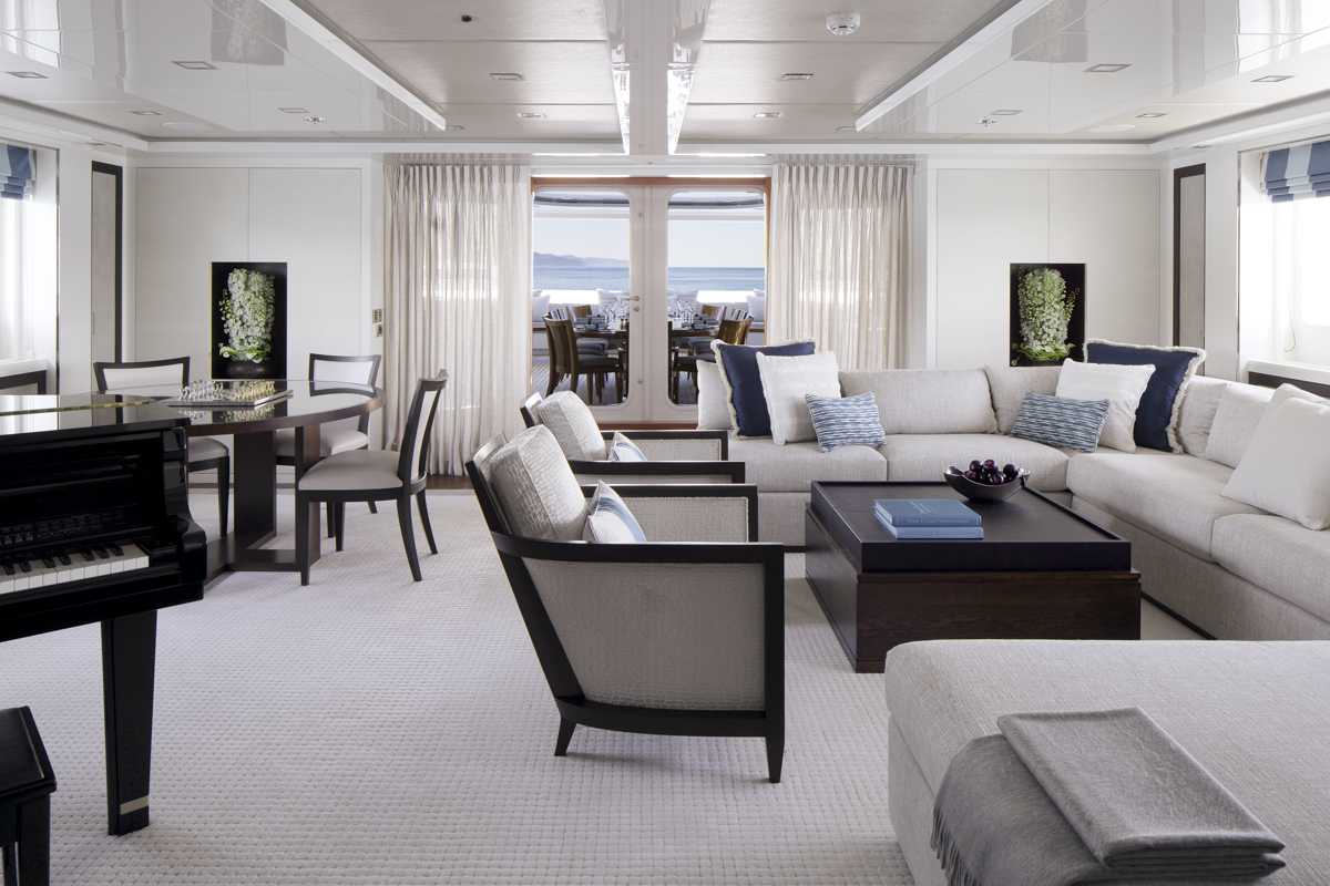TURQUOISE Yacht - Sky Lounge