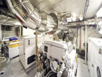 Takapuna - Engine Room