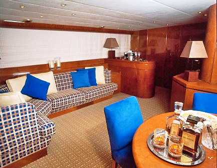 Trinity II -  Upper deck salon