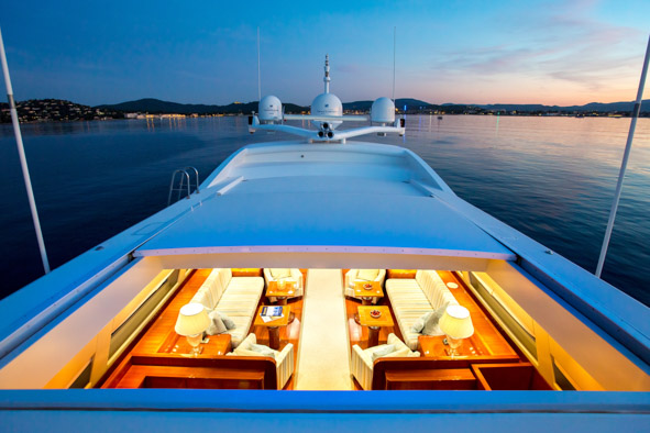 Yacht  KIDI ONE - Retractable roof