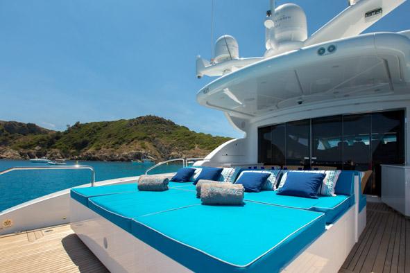 Yacht  KIDI ONE - Sunpads
