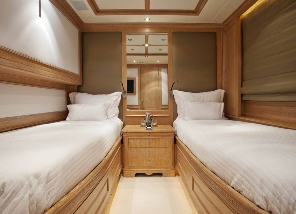 Yacht AFRICAN QUEEN -  Twin Cabin