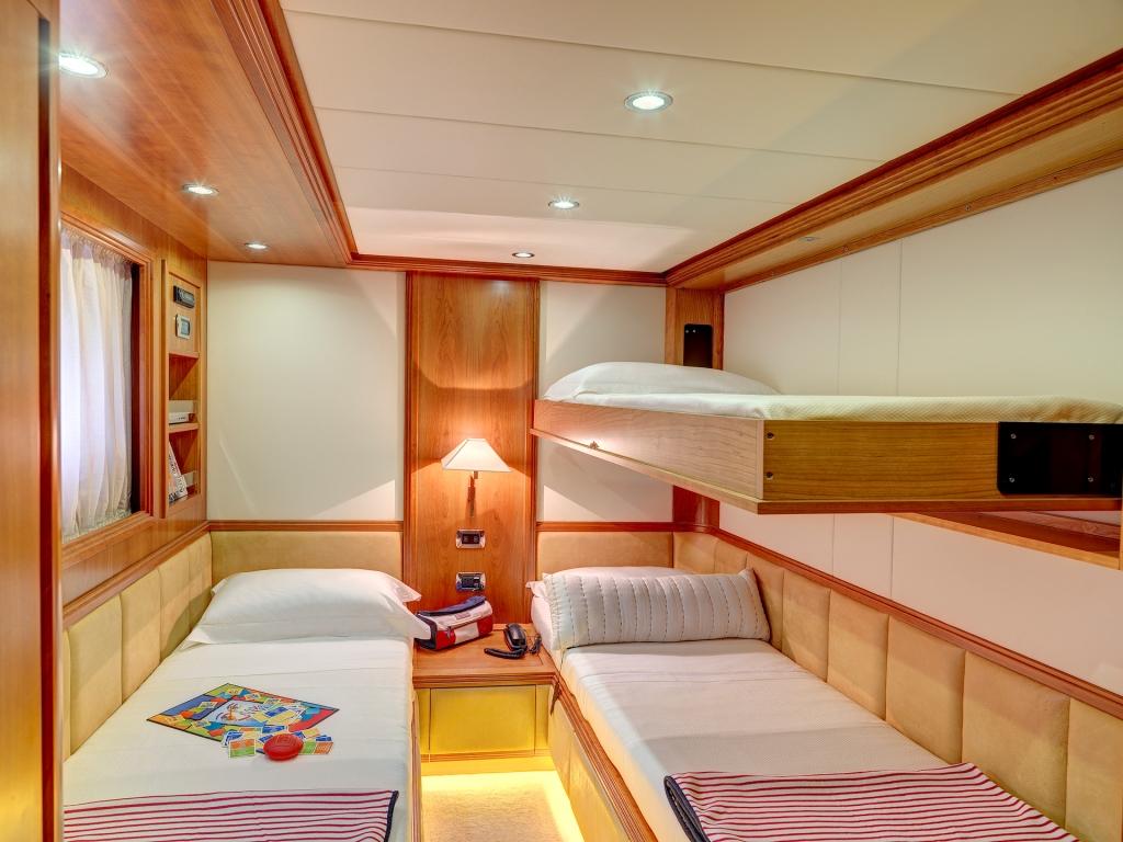 Yacht AIMILIA - Twin Cabin