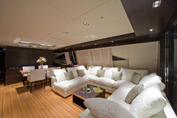 Yacht ALEMIA -  Salon