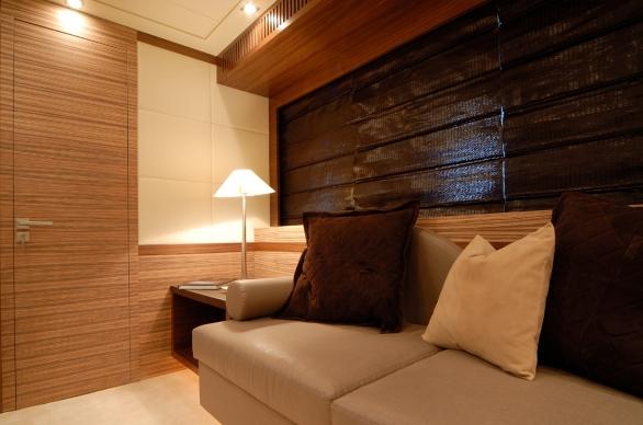 Yacht ALEON -  Master Cabin Seating
