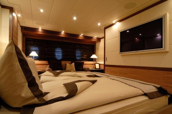 Yacht ALEON -  Master Cabin
