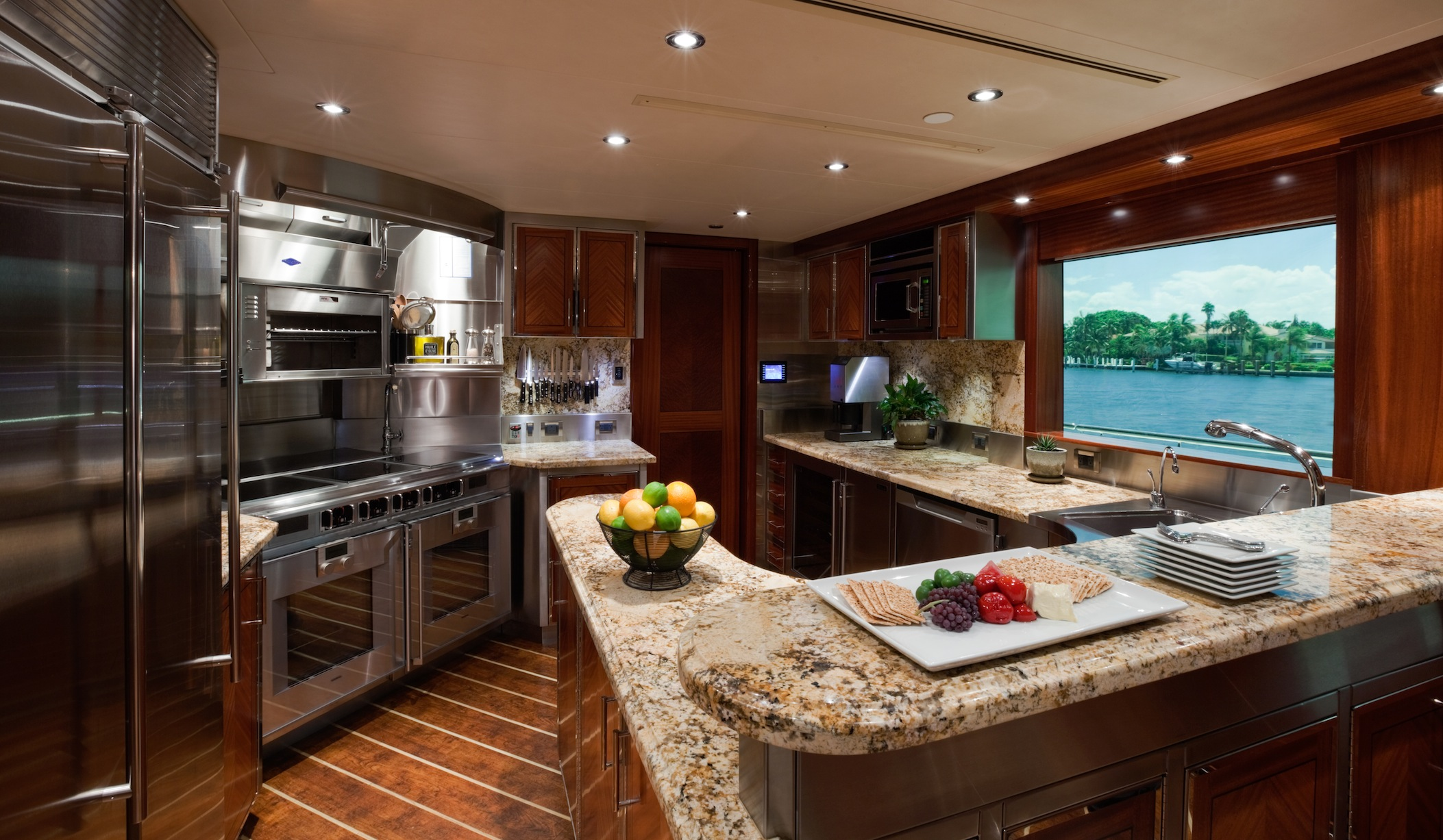 Yacht NINA LU, Westport 40m | CHARTERWORLD Luxury ...