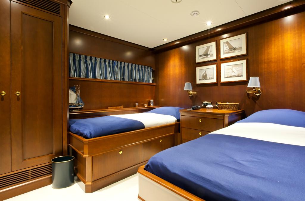Yacht AXANTHA II -  Twin Cabin