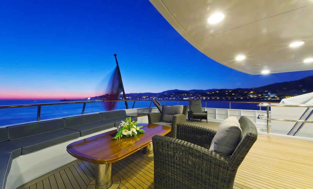 Yacht AXANTHA II -  Upper Aft Deck