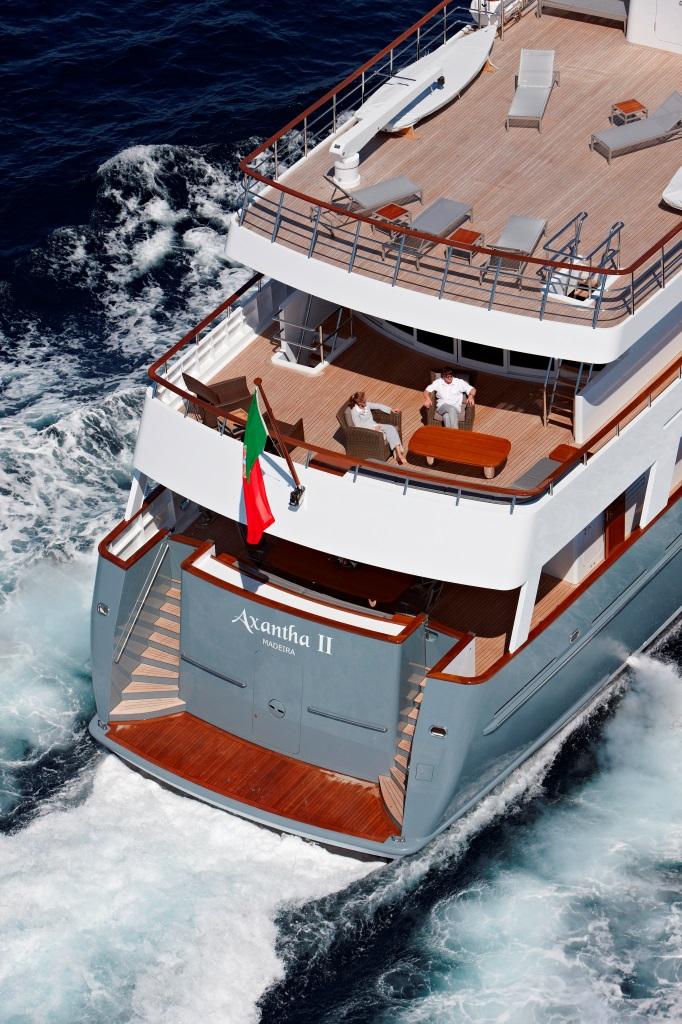 Yacht AXANTHA II -  View of Decks