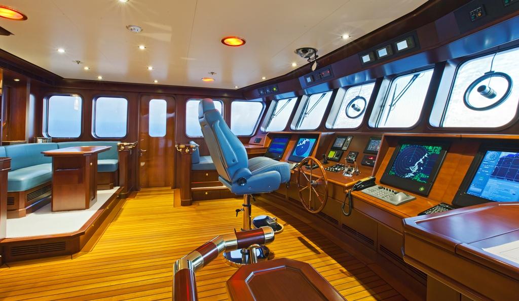Yacht AXANTHA II -  Wheelhouse