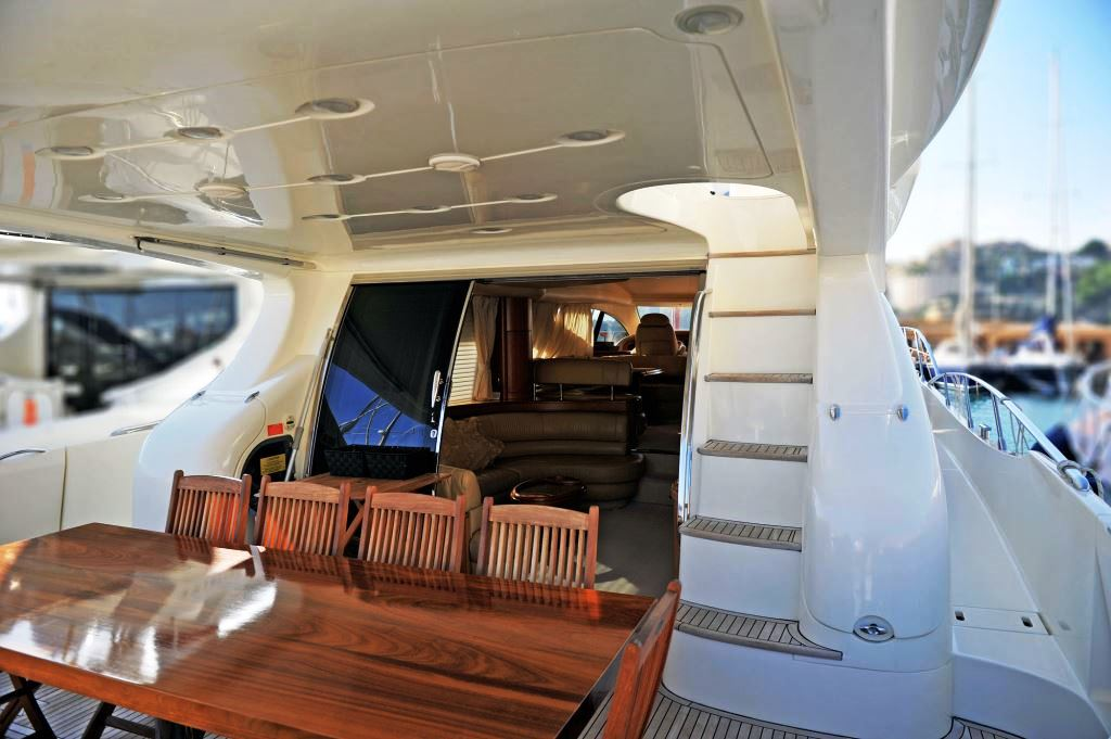 Yacht AZUCENA MARE -  Aft Deck