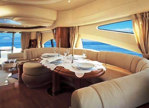 Yacht AZUCENA MARE -  Dining