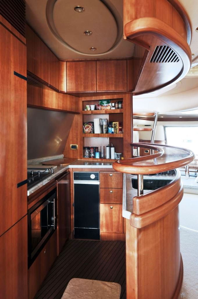 Yacht AZUCENA MARE -  Galley