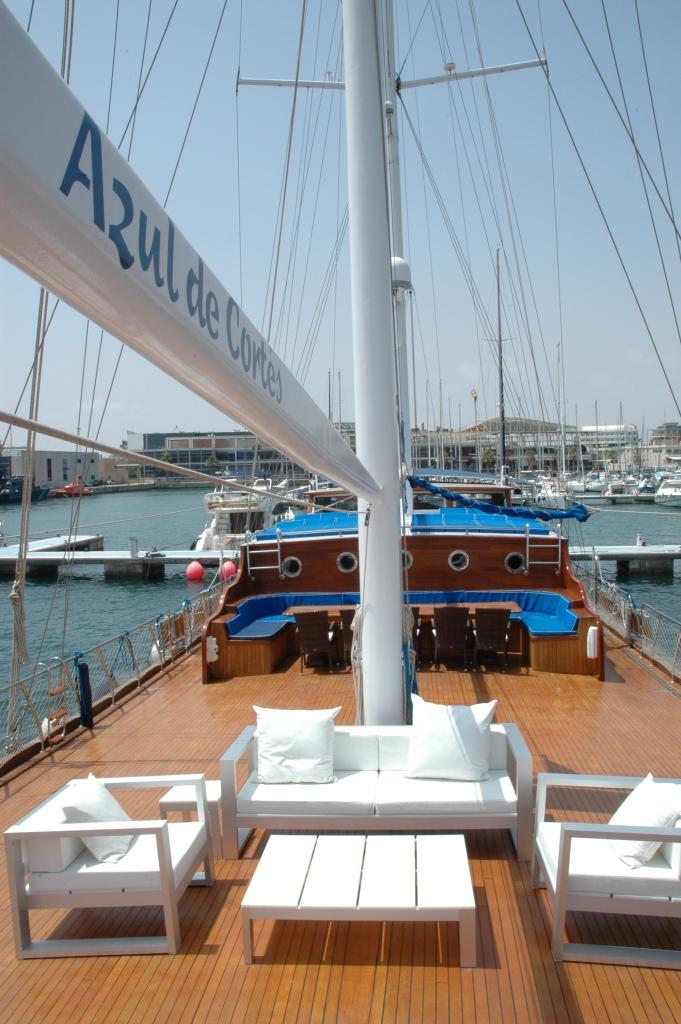 Yacht AZUL DE CORTES - Deck