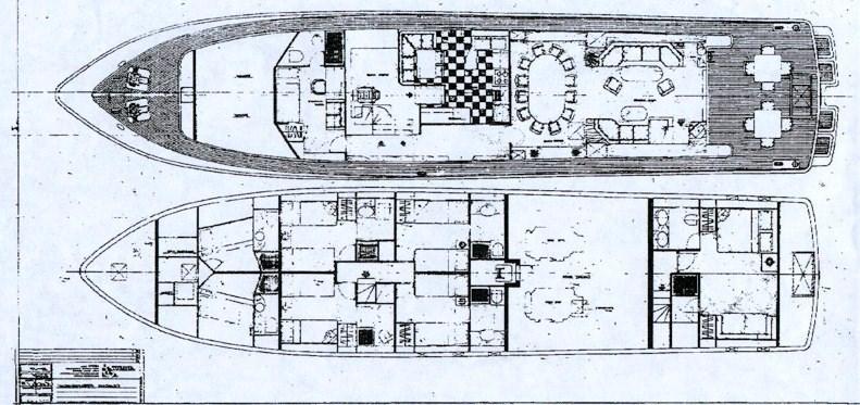 Yacht AZURE RHAPSODY -  Layout