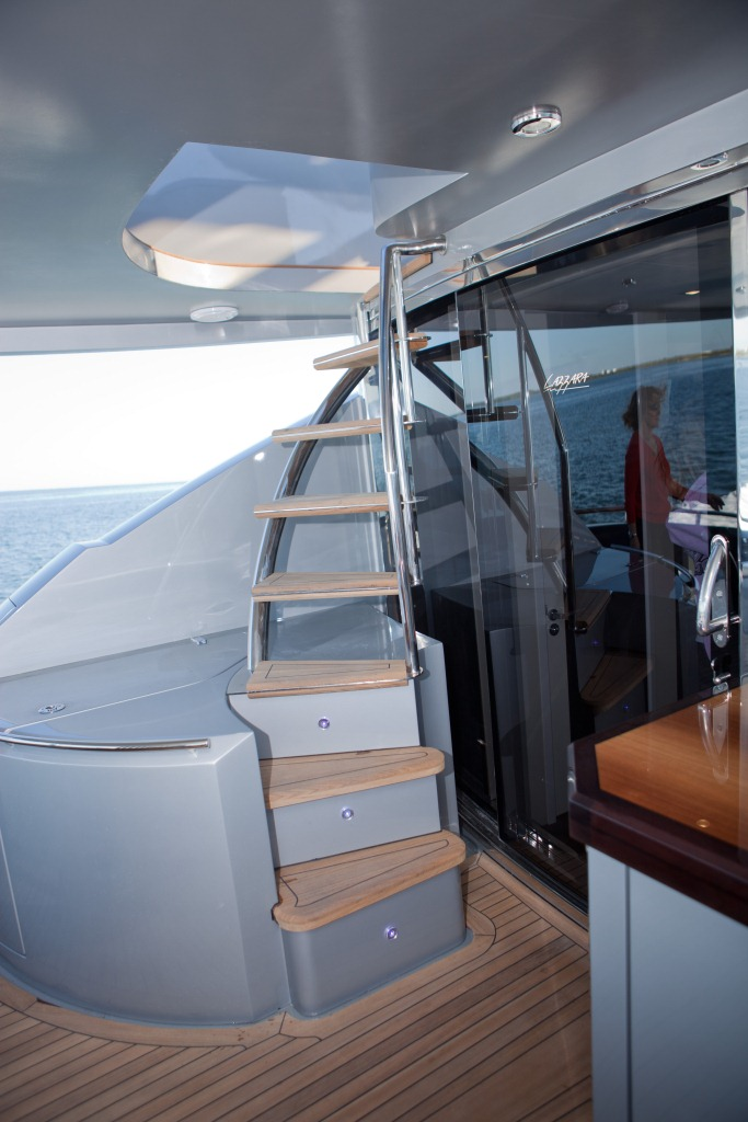 Yacht Algorythm - Stairs to Flybridge