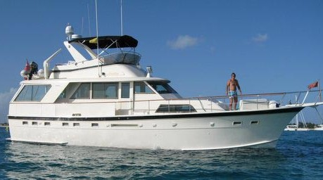 Analisa Yacht Charter Details Hatteras 60ft