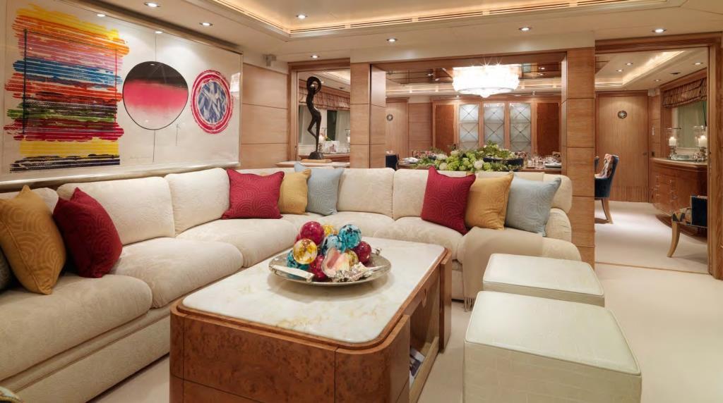 Yacht BALAJU - Salon view