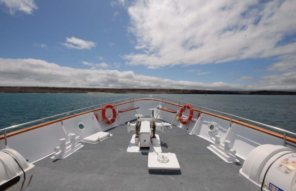 Yacht BELUGA -  Foredeck