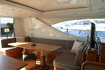 Yacht BEST MOUNTAIN -  Upper Salon