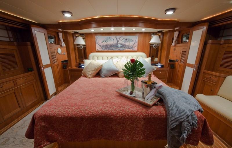 Yacht BLUE HERON -  Master Cabin
