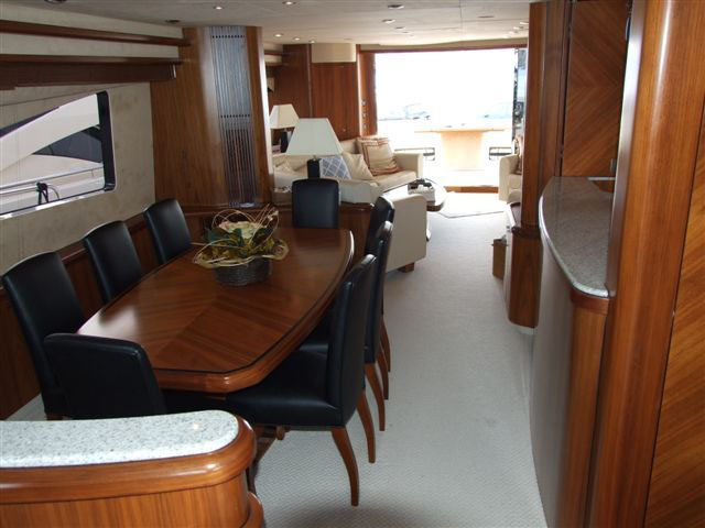 Yacht BLUE QUEST - Dining