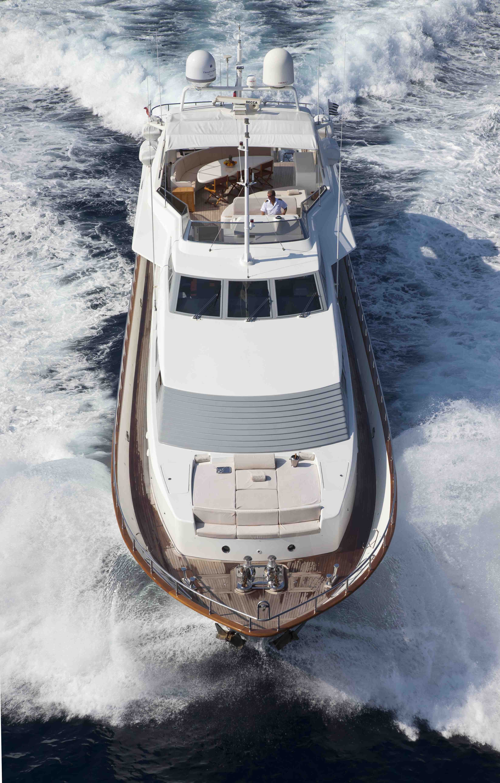 Yacht BOJANGLES -  Forward View
